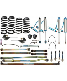 King Shocks 2.5 OEM Performance Series Adjustable Drop Box 6 Inch Lift Kit Suitable For Nissan Patrol GU 2000 on Wagon
