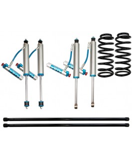 King Shocks 2.5 OEM Performance Series Adjustable 2 Inch Lift Kit Suitable For Toyota Landcruiser 100 Series 6cyl