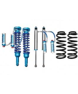 King Shocks 2.5 OEM Performance Series Adjustable 2 Inch Lift Kit Suitable For Toyota Prado 120 Series