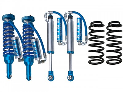 King Shocks 2.5 OEM Performance Series 2 Inch Lift Kit Suitable For Toyota Prado 120 Series