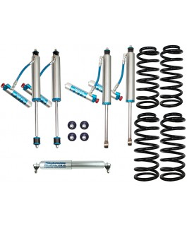 King Shocks 2.5 OEM Performance Series Adjustable 2 Inch Lift Kit Suitable For Toyota Landcruiser 80/105 Series