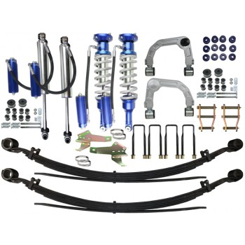 Superior Adjustable Monotube 2.5 Remote Reservoir 4 Inch Lift Kit Suitable For Toyota Hilux 2015 on