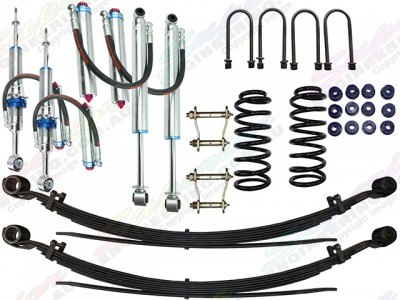 Superior Remote Reservoir 2 Inch Lift Kit Toyota Hilux 2015 on