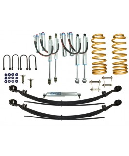 Superior Remote Reservoir 2 Inch Lift Kit Suitable For Toyota Landcruiser 78/79 Series V8