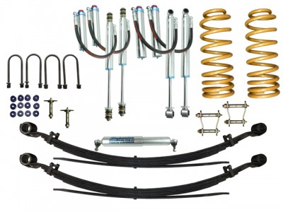 Superior Remote Reservoir 2 Inch Lift Kit Suitable For Toyota Landcruiser 76 Series