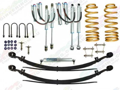 Superior Remote Reservoir 2 Inch Lift Kit Toyota Landcruiser 78/79 Series 6 Cyl