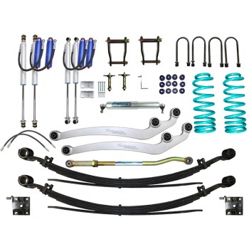 Superior Remote Reservoir 3 Inch Lift Kit Suitable For Toyota Landcruiser 78/79 Series 6 Cyl