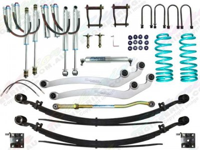Superior Remote Reservoir 3 Inch Lift Kit Toyota Landcruiser 78/79 Series 6 Cyl