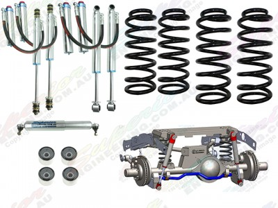 Superior Coil Conversion Stage 4 Full Front and Rear Kit Toyota Landcruiser 79 Series Gen 1 (Non-VSC Models)
