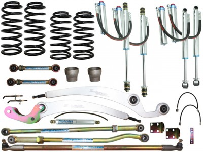 Superior Remote Reservoir Superflex 4 Inch Lift Kit Suitable For Nissan Patrol GQ