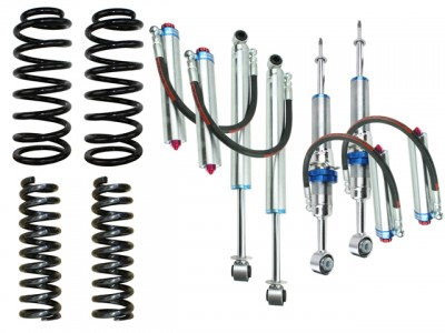 Superior Remote Reservoir 2 Inch Lift Kit Suitable For Toyota Prado 120 Series