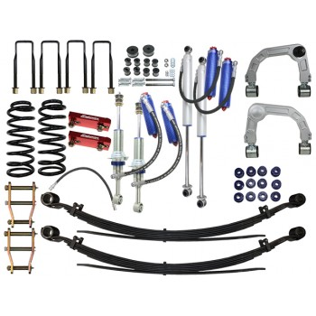 Superior Remote Reservoir 4 Inch Lift Kit Suitable For Toyota Hilux 2005-15