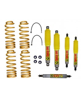 Superior 3 Inch Lift Kit Suitable For Nissan Patrol GU 98-99 Wagon/98 on Ute with Tough Dog Shocks