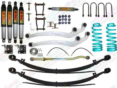 Superior 4 Inch Lift Kit Toyota Landcruiser 76 Series 2017 on with Tough Dog Shocks