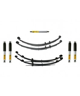 Superior 2 Inch Lift Kit Suitable For Nissan Patrol MK with Tough Dog Adj Shocks