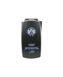 Rocker Switch Front Differential Lock Blue LED