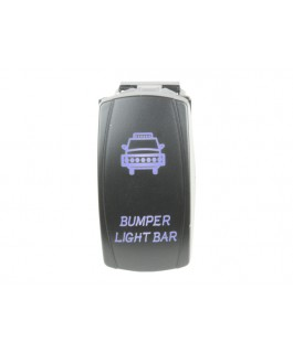Rocker Switch Backup Lights Blue LED
