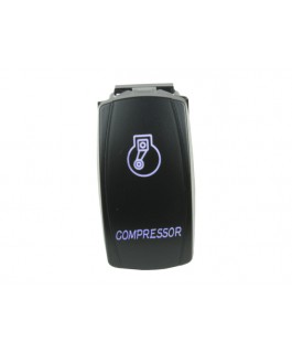 Rocker Switch Compressor Blue LED
