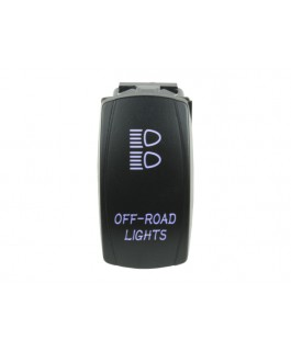 Rocker Switch Off-road Lights Blue LED