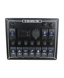 Superior DC Main Control Panel