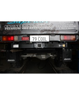 Superior Engineering High Clearance 3500kg Towbar Suitable For Toyota Landcruiser 79 Series 2012 on (Each)
