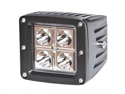 Ironman 4x4 LED Universal Work Light 16 W Square (Flood)