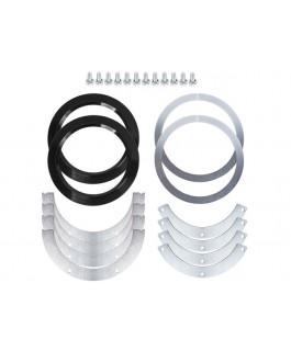 Trail-Safe FJ80 Knuckle Ball Wiper Seal Kit (Kit)