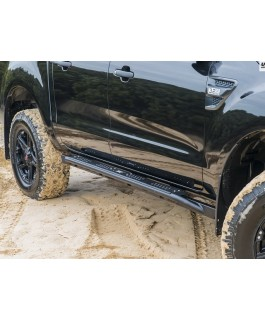 Uneek 4x4 Rock Sliders Suitable For Ford Ranger/Mazda BT-50 2011-19 Dual Cab (Each)