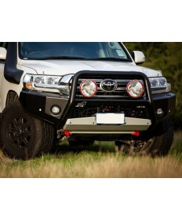 Uneek 4x4 Empire Bull Bar Single Hoop Suitable For Toyota Landcruiser 200 Series 2016 on (Each)