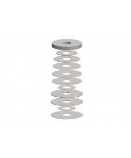 Superior Shock Absorber Shim Stack(130-165 Compression Pack)