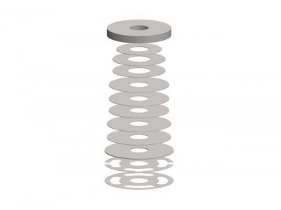 Superior Shock Absorber Shim Stack(380 Rebound Pack)