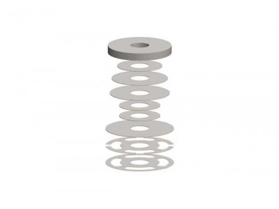 Superior Shock Absorber Shim Stack(90-130 Compression Pack)