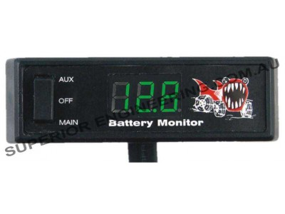 Piranha Offroad Digital Battery Monitor