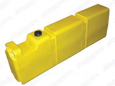 Long Diesel Fuel Tank 70Lt (with Mounting Kit)
