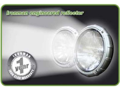 Ironman 4x4 Gamma 100W Halogen 7 Inch Driving Lights (Pair)