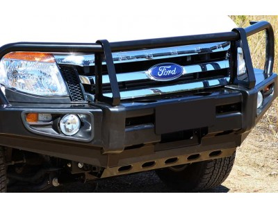Ironman 4x4 Black Commercial Bull Bar - Ford Ranger PX (2011-15)