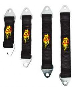 Limiting Strap 6 Ply 10 Inch Travel