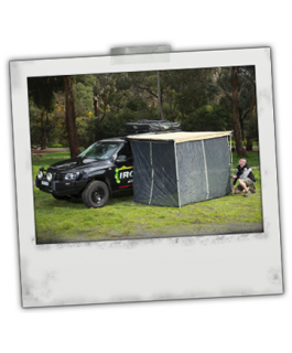 Ironman 4x4 Instant Awning Fly Screen Netting (1.4m x 2m)