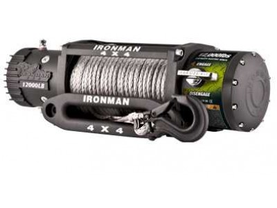 Ironman 4x4 Monster Winch 12000lb (Synthetic Rope)