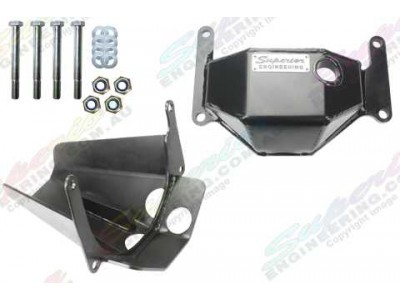 Superior Stealth Pinion and Diff Guard Set Suitable For Nissan Patrol GQ/GU H233