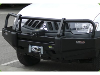 Ironman 4x4 Black Commercial Bull Bar Suitable For Mitsubishi Pajero NW(2011-2014)
