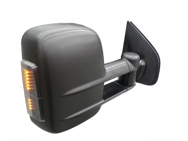 Clearview Tow Mirrors Ford Ranger Px 2012 On Black With