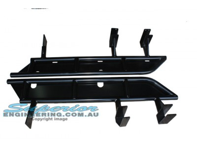 Superior Tube Rock Sliders Nissan Patrol GU Series 4 On Ute (Extra Heavy Duty)