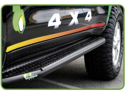 Ironman 4x4 Steel Side Steps - Suitable For Toyota Hilux 2005-15(Dual Cab)