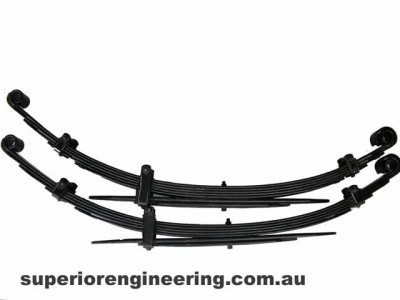 Dobinson Leaf Springs Rear 2 Inch Heavy Duty Lift Toyota Landcruiser 40 Series 1980 on