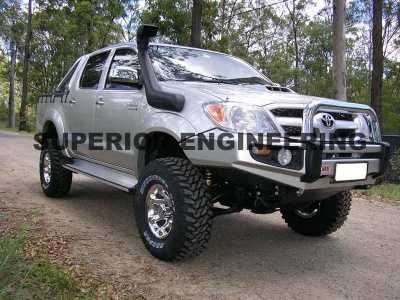 Toyota Hilux Fitted With The 4 Inch Bilstein Suspension Lift Kit