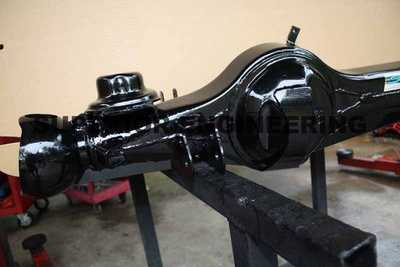 Example of a Diff Brace Kit fitted to a Landcruiser differential