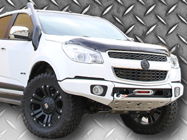 Rhino 4x4 Evolution 3D Winch Bar Suitable For Holden