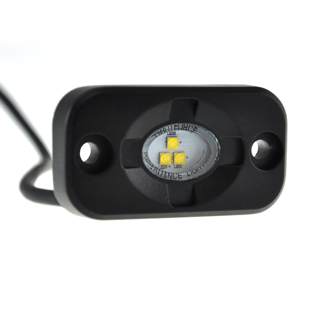 Front view of the ROK9 LED light
