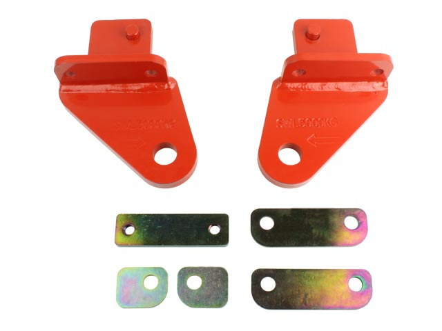 Pair of Superior Towing Points Toyota Landcruiser 76/78/79 Series (Heavy Duty)